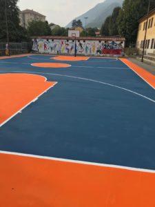 OlimpicaSportTorino - Campo Basket Condove2