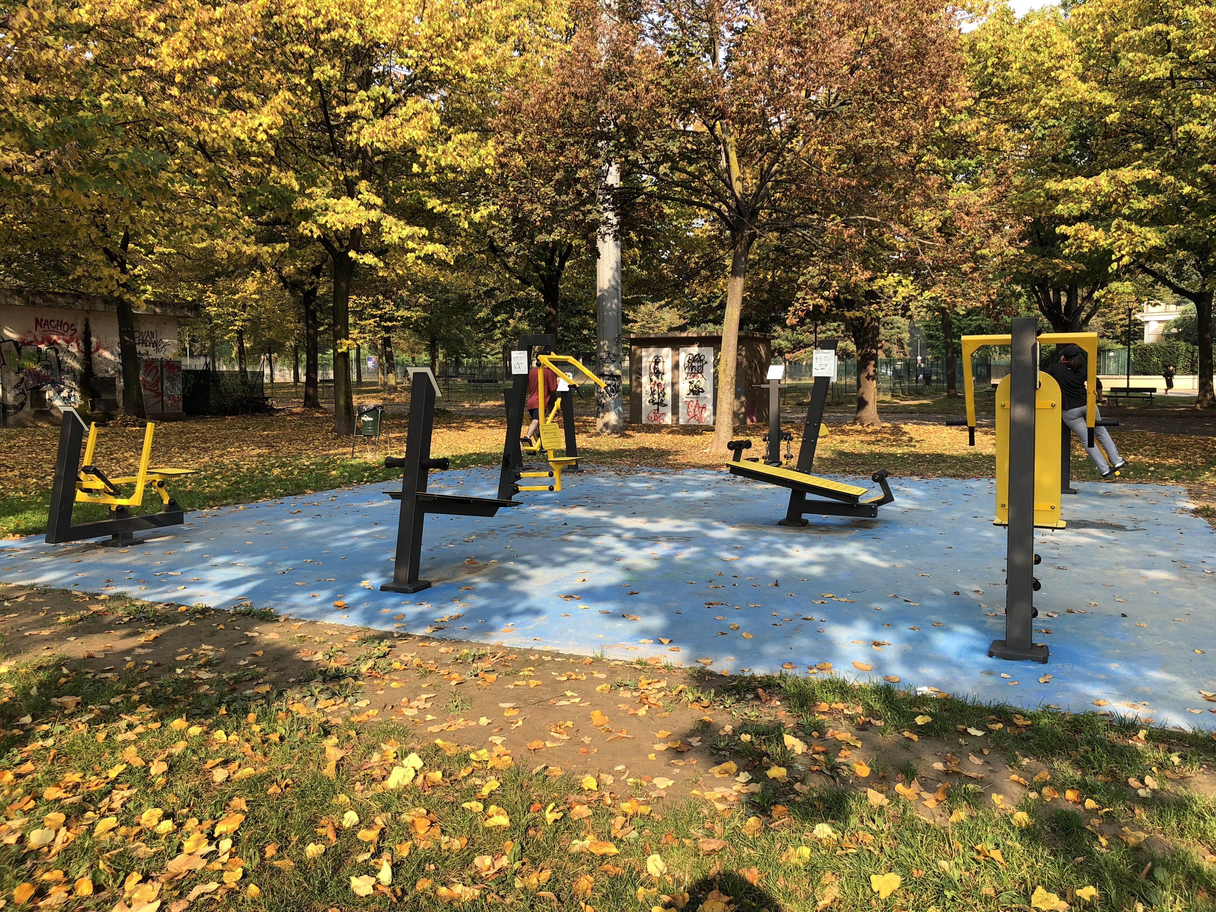 Area Attrezzata al Parco Ruffini Torino