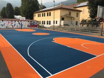 OlimpicaSportTorino - Campo Basket Condove1